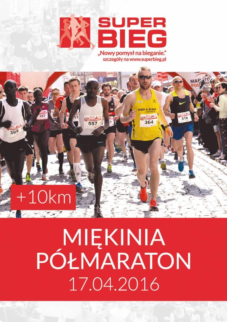 Półmaraton Miękinia 2016
