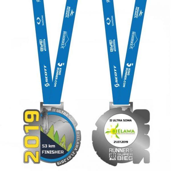 ultra sowa medal